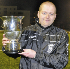 Leith manager Derek Riddell spoke after the match.