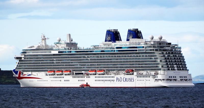 North Edinburgh Community News Britannia Cruise Ship Sails Into - Britannia cruise ship