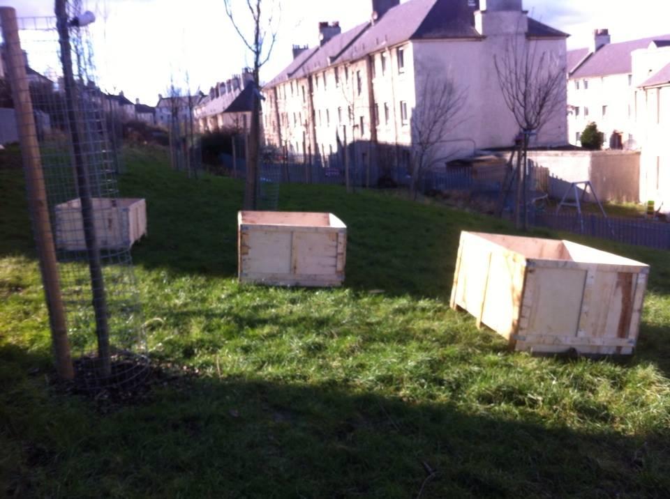 North Edinburgh Community News Tree Planting Days At