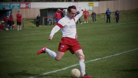 Jack Beesley in action for Spartans