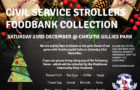 Civil Service Strollers support local foodbank with donate at the gate collection