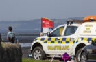 Five people rescued after getting stuck in mud at Cramond.