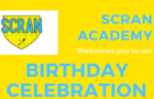 Scran Academy second birthday party next week