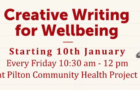 Creative Writing for Wellbeing at PCHP