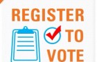 Are you registered to vote for upcoming general election?