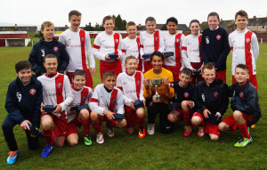 Spartans u13s - Peter O'Neill cup winners. (Picture: Susie Raeburn)