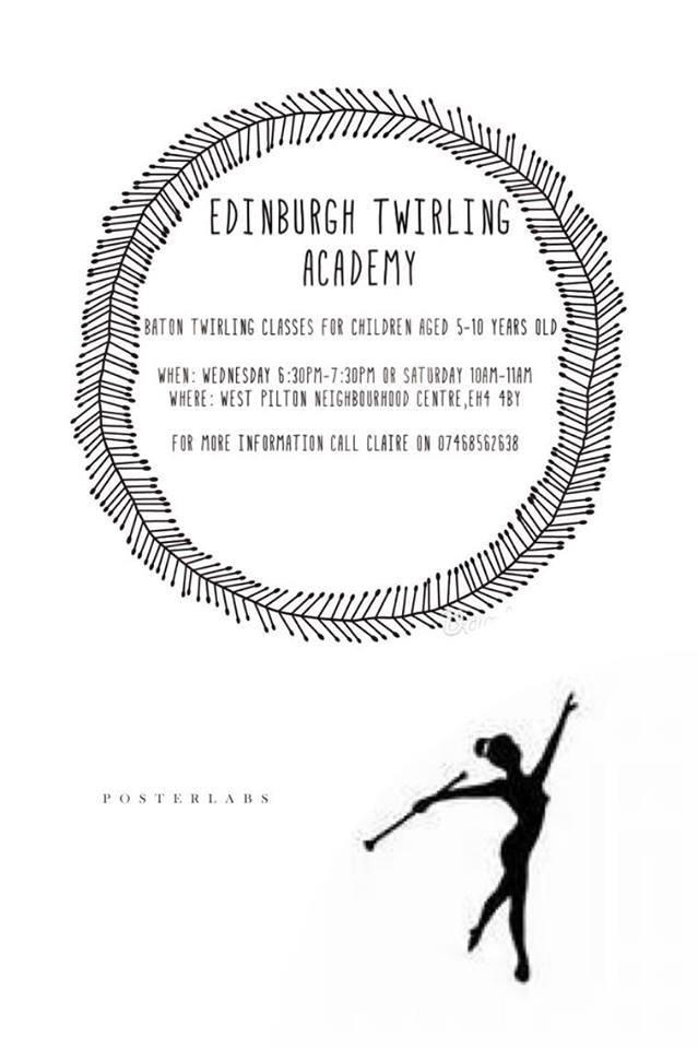 twirling poster for NEN