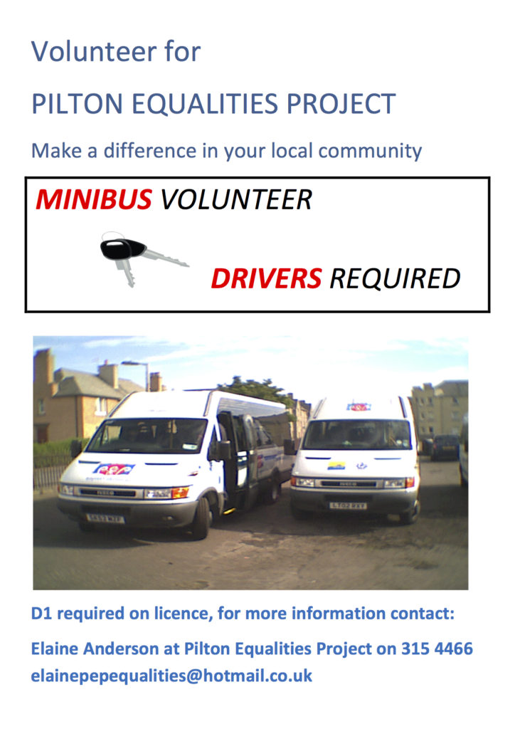 PEP Volunteer driver