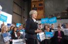Theresa May visits north Edinburgh ahead of this weeks General Election