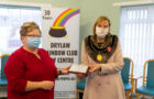 Depute Lord Provost visits Drylaw Rainbow Club to unveil birthday Plaque