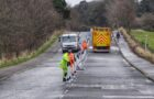 Work begins on reopening Silverknowes Road to public transport
