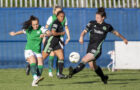 Hibs first game back in front of fans ends with narrow defeat to Celtic in Penicuik