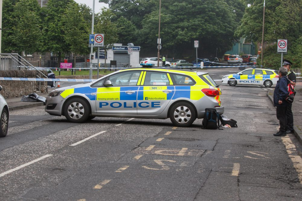 Granton Square sealed off following early morning assault